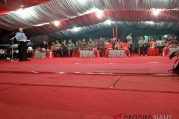 Bupati Sitaro Tutup Pameran Pembangunan Daerah