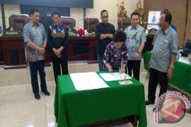 Dprd-pemkot Manado Setujui KUA-PPAS RAPBD  2018
