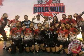 Bola Voli - Tim Putri JWS Minahasa Menjuarai Kejurnas U-17