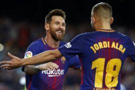 Messi kembali jadi penentu kemenangan Barcelona
