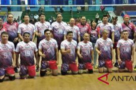 Galatua Sulut Juara Tiga Kejurnas Voli U-40