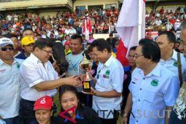 Kejuaraan pacuan kuda di Sulut berlangsung sukses
