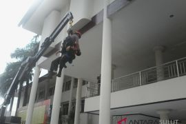 Sabhara Polda Sulut gelar simulasi penanggulangan bencana