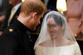 Gaun pengantin yang dipakai Meghan Markle