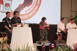 KPU Minahasa sukses gelar debat kandidat putaran tiga