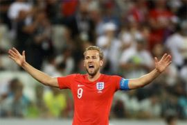 Piala Dunia - Pendukung Inggris sambut kemenangan atas Tunisia