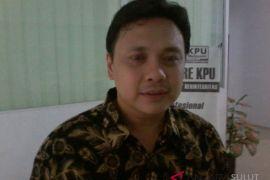 Baru PDI Perjuangan daftar Bacaleg di KPU Sulut