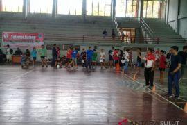 Dispora Sulut tes evaluasi calon atlet  PPLP