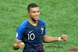 Piala Dunia - Mbappe pemain termuda cetak gol final Piala Dunia setelah Pele
