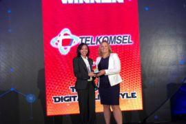 Telkomsel mendapatkan penghargaan