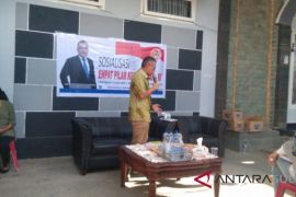 LEGISLATOR BARA HASIBUAN SOSIALISASI PILAR KEBANGSAAN DI MANADO