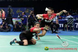 Bulutangkis - Greysia/Apriyani juara setelah lima kali kalah atas pasangan Jepang