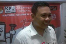 Parpol datangi KPU masukan berkas perbaikan Bacaleg