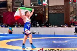 Iran raih medali emas terbanyak sementara di cabang gulat