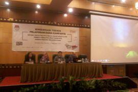 KPU Sulut gelar Bimtek pelaporan dana kampanye