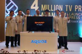 Tembus Empat Juta Produksi LED TV, SHARP Indonesia Luncurkan TV Azan