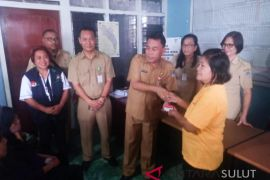 Dinsos Manado-BRI Salurkan 14.460 Kartu BPNT