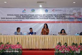 Pemkot Bitung apresiasi BKPSP tingkatkan ekonomi nelayan perempuan