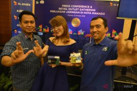 XL tingkatkan kualitas layanan data di Sulut