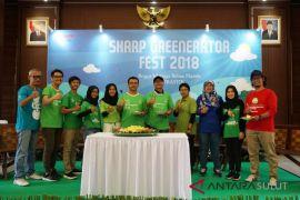 SHARP Greenerator Fest 2018 Ajak Anak Muda Lestarikan Lingkungan
