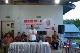 Richard Sualang serap aspirasi warga  di Malalayang Satu Timur