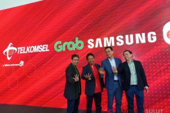 Grab gandeng Samsung, Telkomsel, dan Erafone luncurkan program kepemilikan ponsel cerdas khusus untuk mitra pengemudi