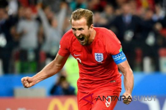 Piala Dunia - Kapten Inggris sabet Sepatu Emas Piala Dunia 2018