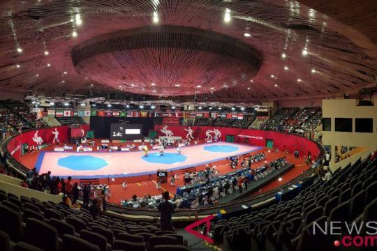 Taekwondo perebutkan tiga emas di hari ketiga
