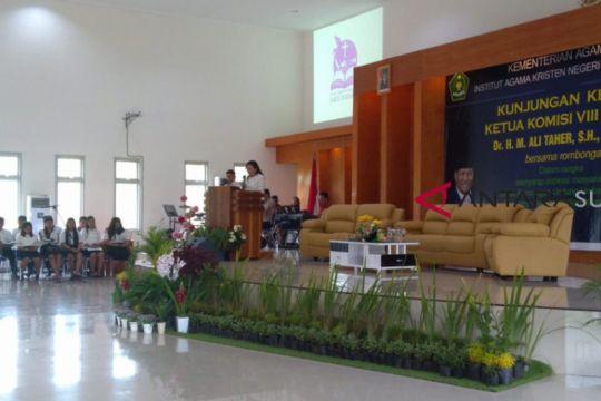 Rektor IAKN minta bantuan ke Komisi VIII kembangkan kampus