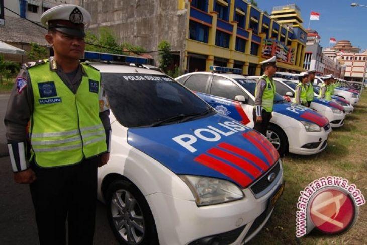 Kapolres Minahasa Selatan cek pos operasi ketupat