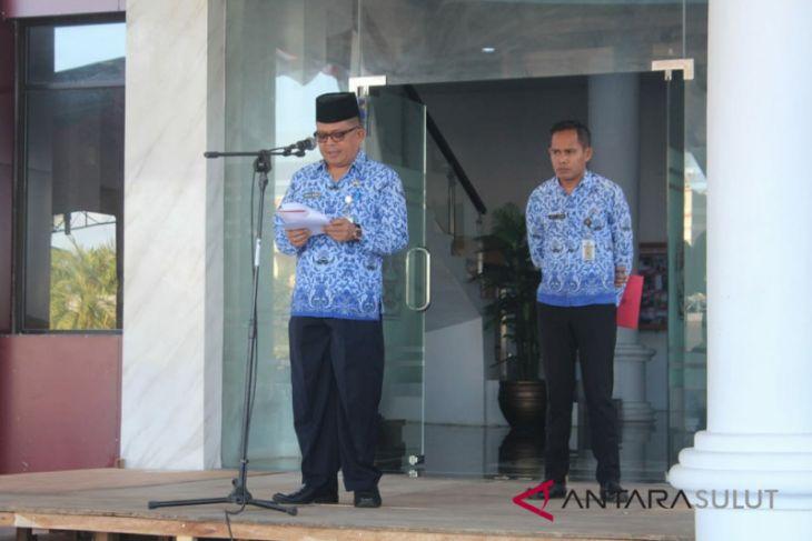 Sitaro peringati HUT Provinsi dengan upacara