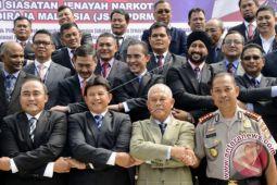 Indonesia-Malaysia Lakukan Pertemuan Bilateral Bahas Narkotika