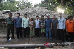 Buruh tani Lombok Utara dapat bantuan rumah