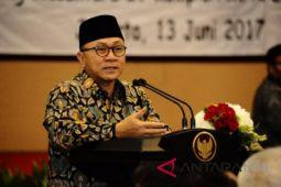 Zulkifli Hasan Instruksikan Kader PAN Menangkan Pilkada 2018