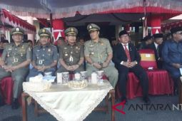 Wabup Lombok Utara Hadiri HUT Pol PP