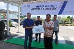 Hero Group peduli korban gempa Lombok