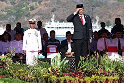 BUMN gelar upacara kemerdekaan di Terminal Gilimas