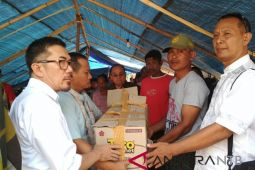 Forum BP3TKI serahkan bantuan untuk korban gempa Lombok