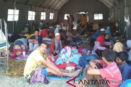 Pengungsi di Lombok Utara kesulitan fasilitas MCK