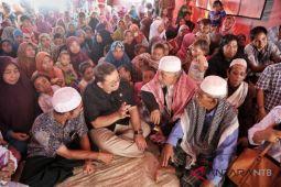 Fadli Zon serap aspirasi korban gempa di Lombok Utara