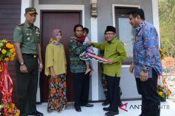 Pembangunan prototipe rumah tahan gempa di Lombok Utara rampung