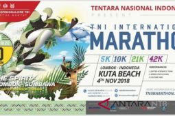 TNI ajak warga sukseskan Internasional Marathon