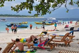 Kawasan wisata Tiga Gili berangsur pulih