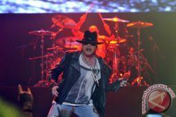 Tiga jam Guns N' Roses akan hentak Jakarta