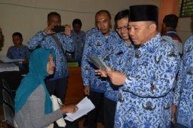 Bupati Lombok Utara Monev di Gangga
