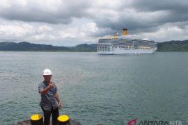 Kapal Italia bawa 1.677 wisatawan ke Lombok