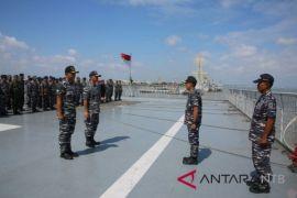 250 personel marinir tiba di Lombok