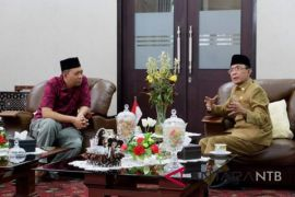 Gubernur terpilih silaturahim ke Wali Kota Mataram