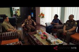 Silaturahmi Kabiro Perum LKBN Antara NTB dengan Kajati NTB