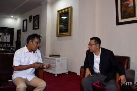 Silaturahmi Perum LKBN Antara Biro NTB dengan Gubernur NTB